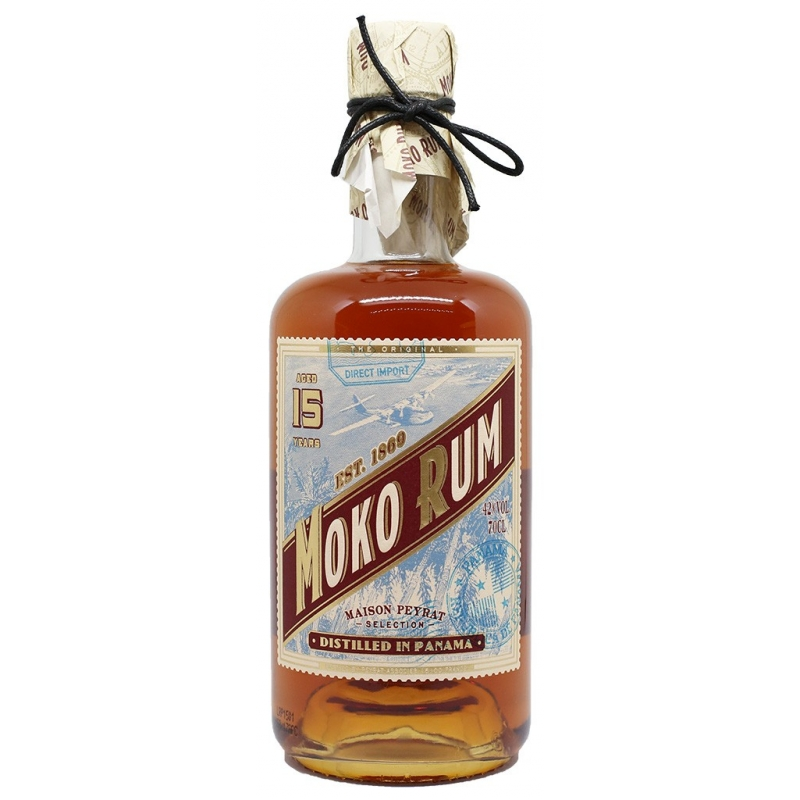 Rhum du Panama - Moko Rum 15 ans d'age