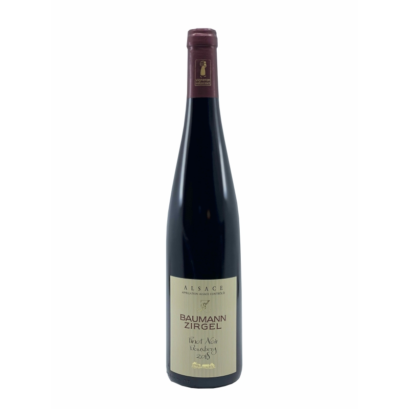 AOC Alsace Pinot Noir lieu dit Bouxberg 2018