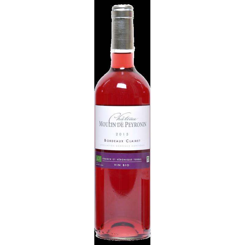 AOC Bordeaux Clairet Chateau Moulin Peyronin 2019