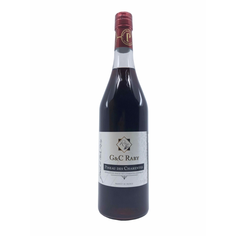 AOC Pineau des Charentes rouge RABY