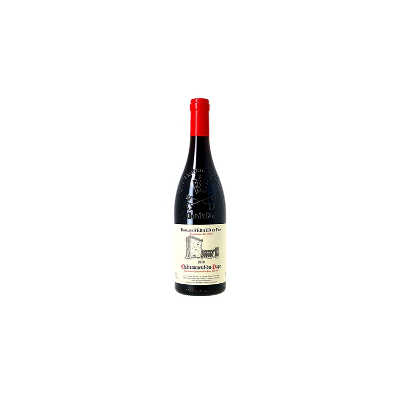 AOC Chateauneuf du pape rouge. Tradition 2018