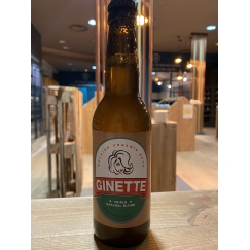 Bière belge bio Ginette...