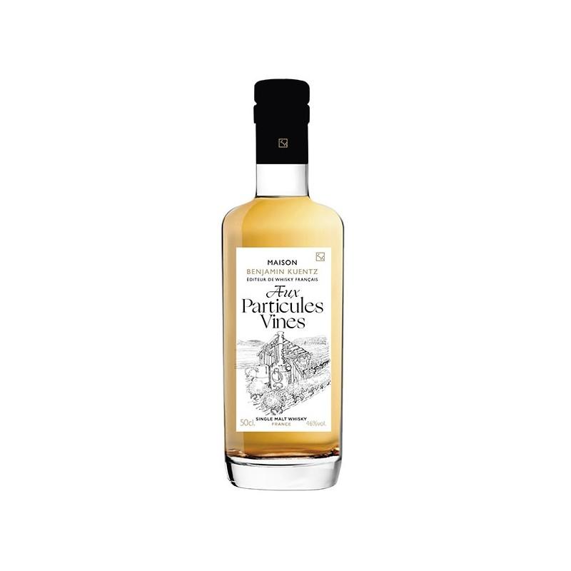 Whisky français Aux particules vines