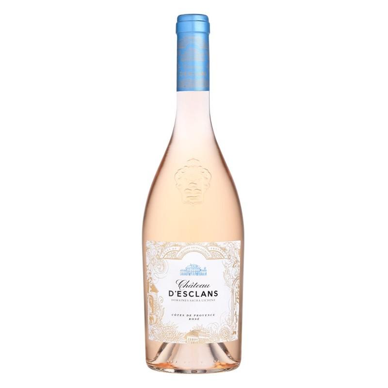 AOC Cotes de provence rosé Chateau d'Esclans