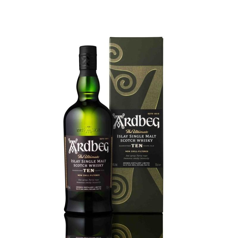 Whisky Ardberg 10 ans