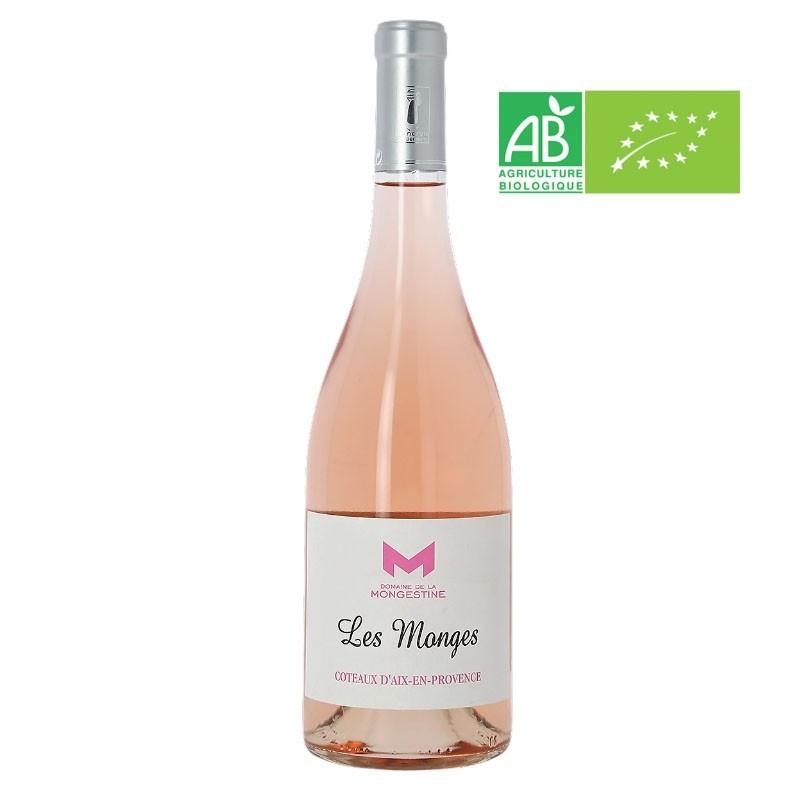 AOP Coteaux d'Aix en Provence - Les Monges rosé 2019