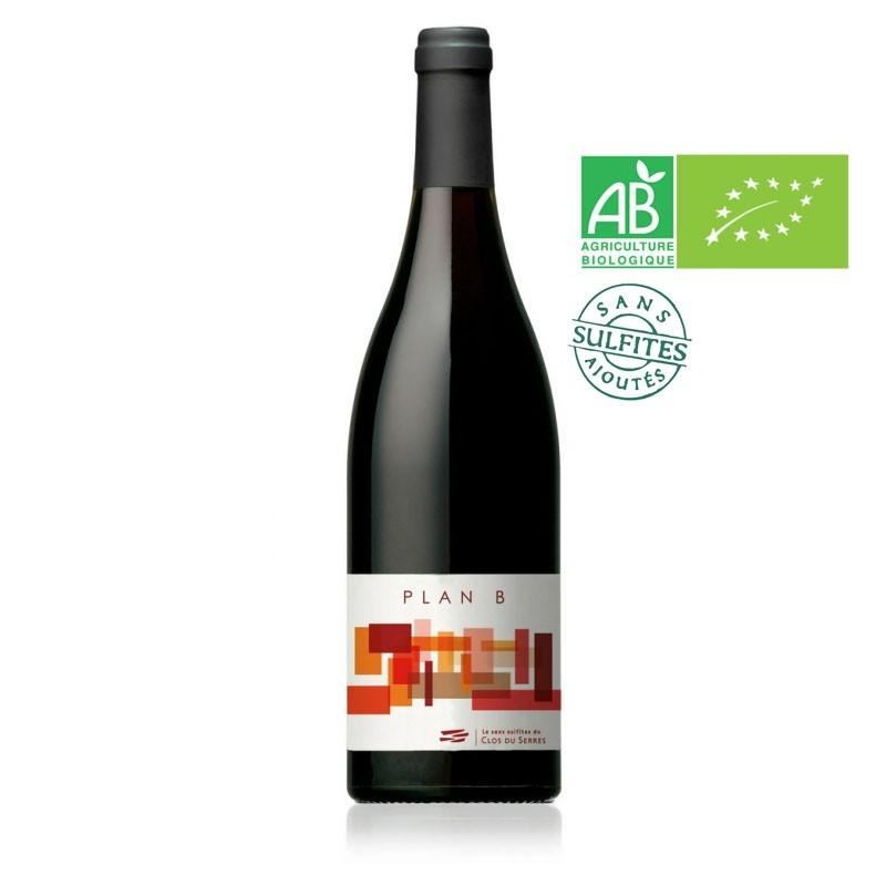 AOC Languedoc Plan B Sans Sulfites