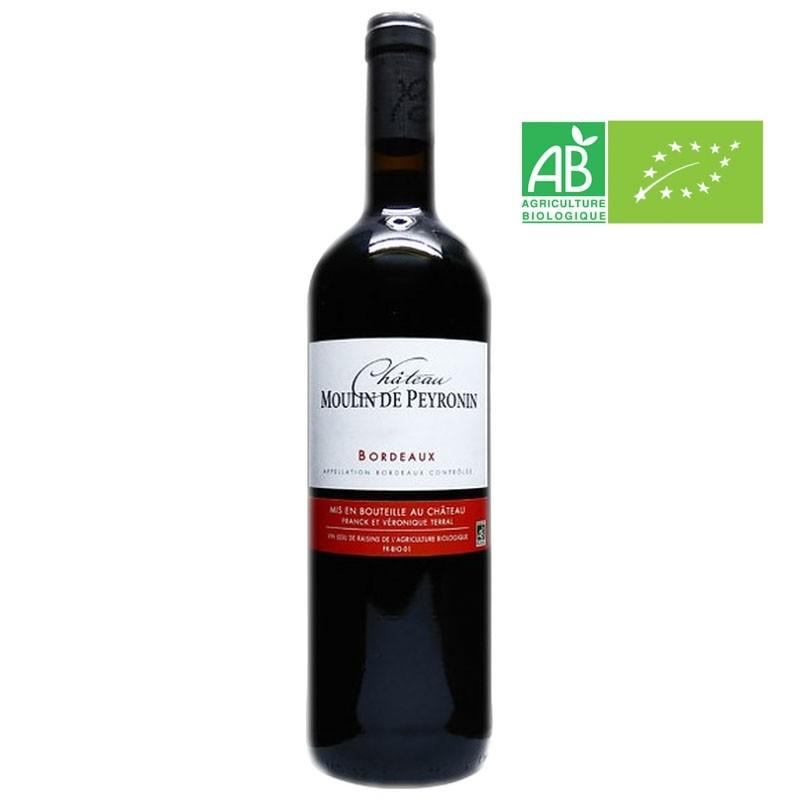 AOC Bordeaux rouge Chateau Moulin Peyronin 2016