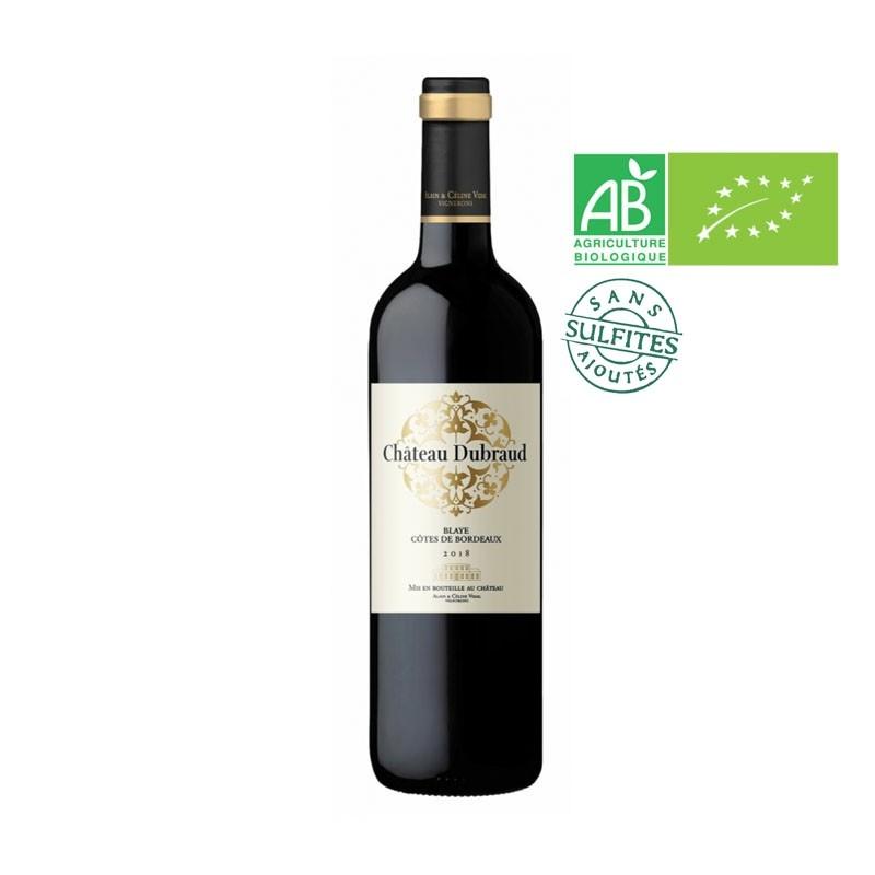 AOC Blaye Côtes de Bordeaux 2018