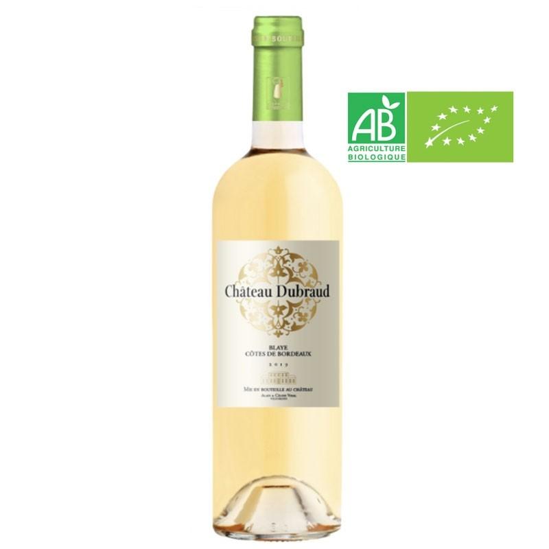 AOC Blaye Cotes de Bordeaux Blanc 2018