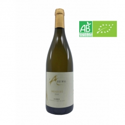 AOC Saumur blanc. Amandiers...