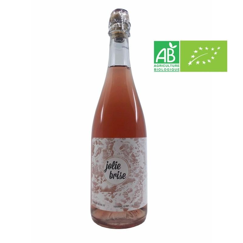 VDF Méthode ancestrale rosé. Jolie brise